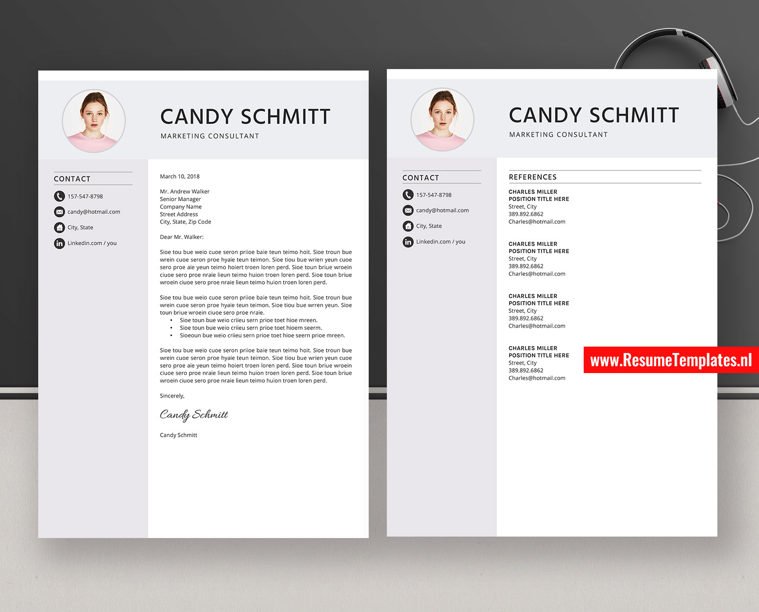 Cover Letter Template Download Microsoft Word from www.resumetemplates.nl