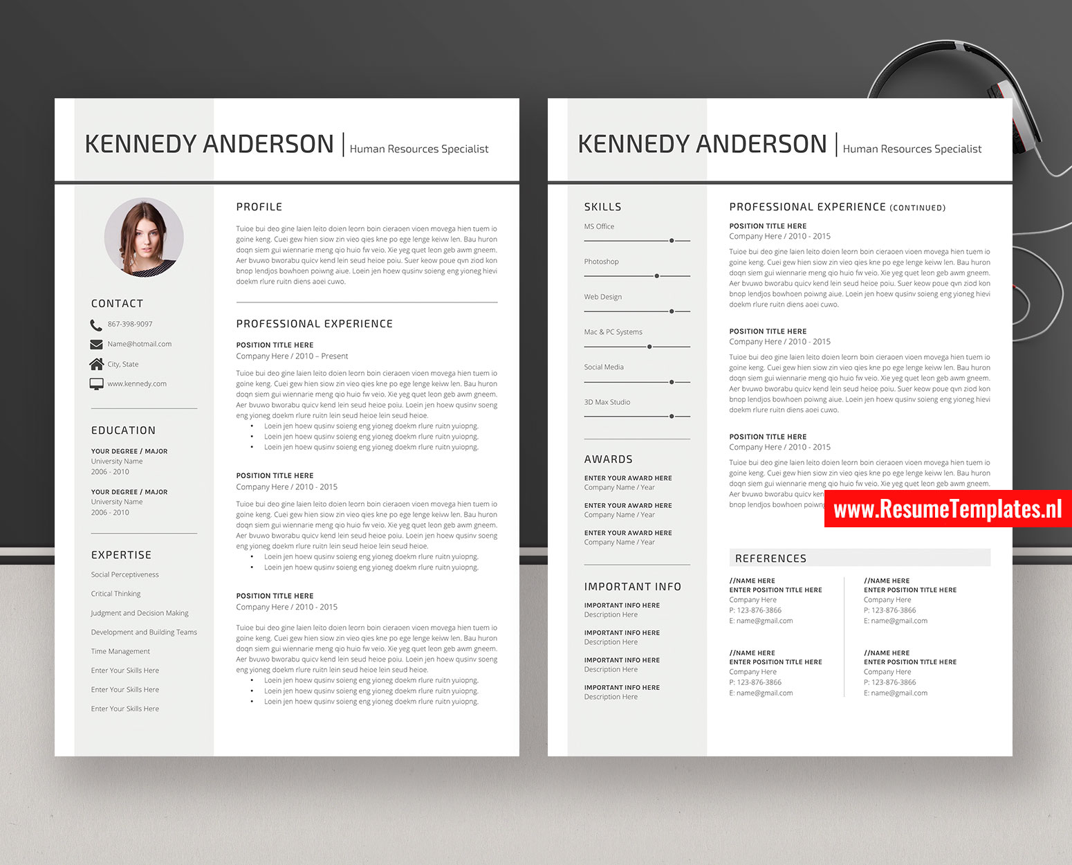 creative cv template    resume template word  curriculum