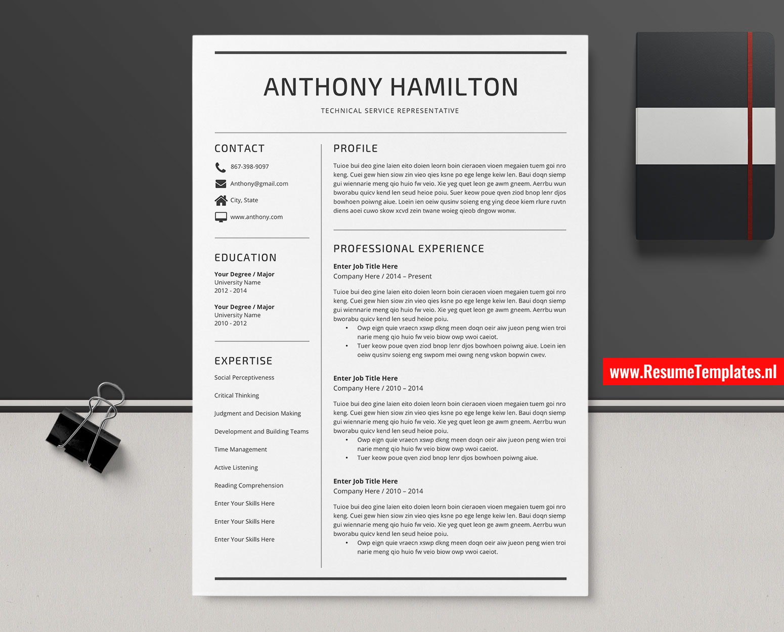 Minimalist Cv Template Resume Template Word Curriculum Vitae Modern Resume Editable Resume Professional Resume Teacher Resume 1 3 Page Resume Instant Download Resumetemplates Nl