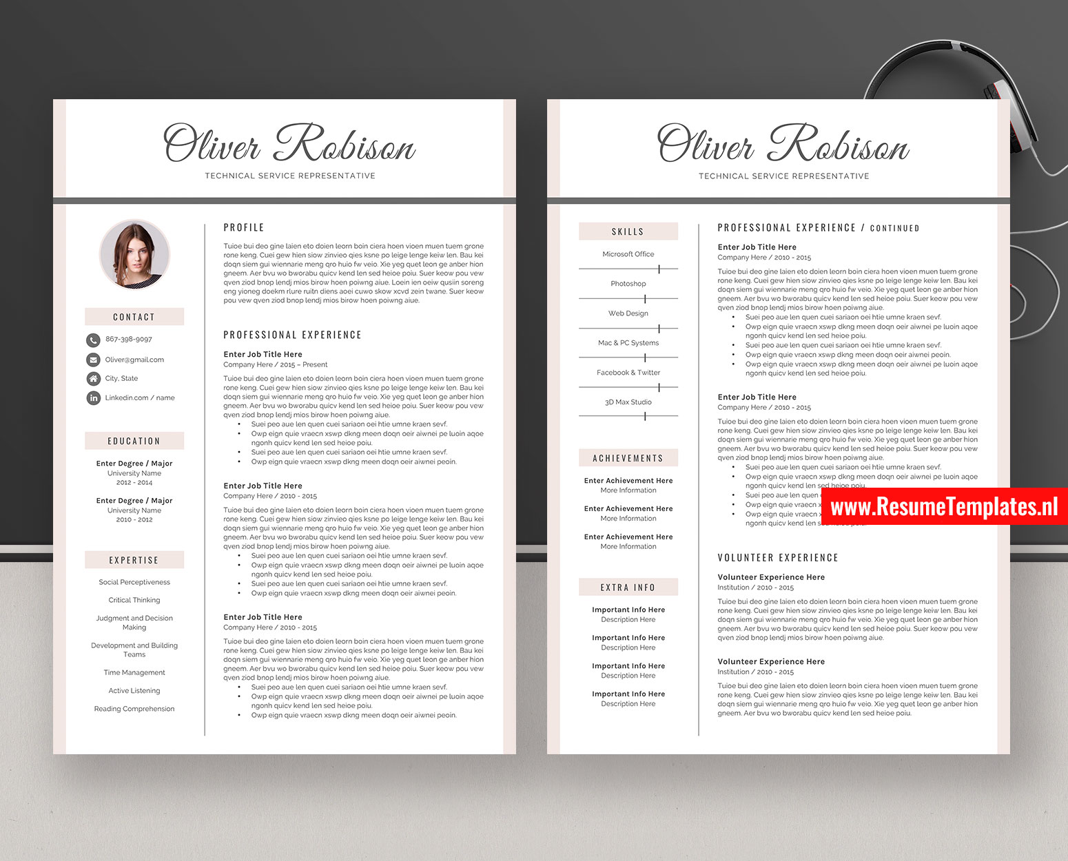 creative resume templates    cv templates  cover letter  ms
