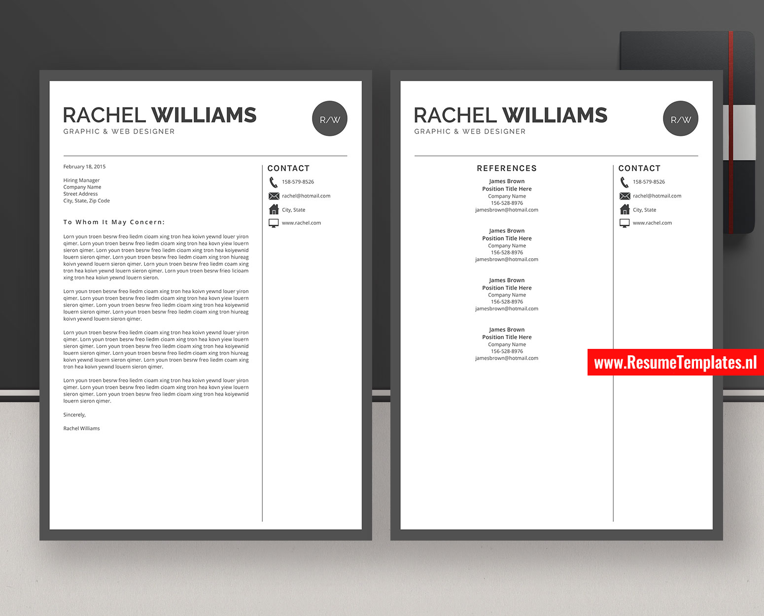 Editable Cv Template Resume Template Curriculum Vitae Ms Word