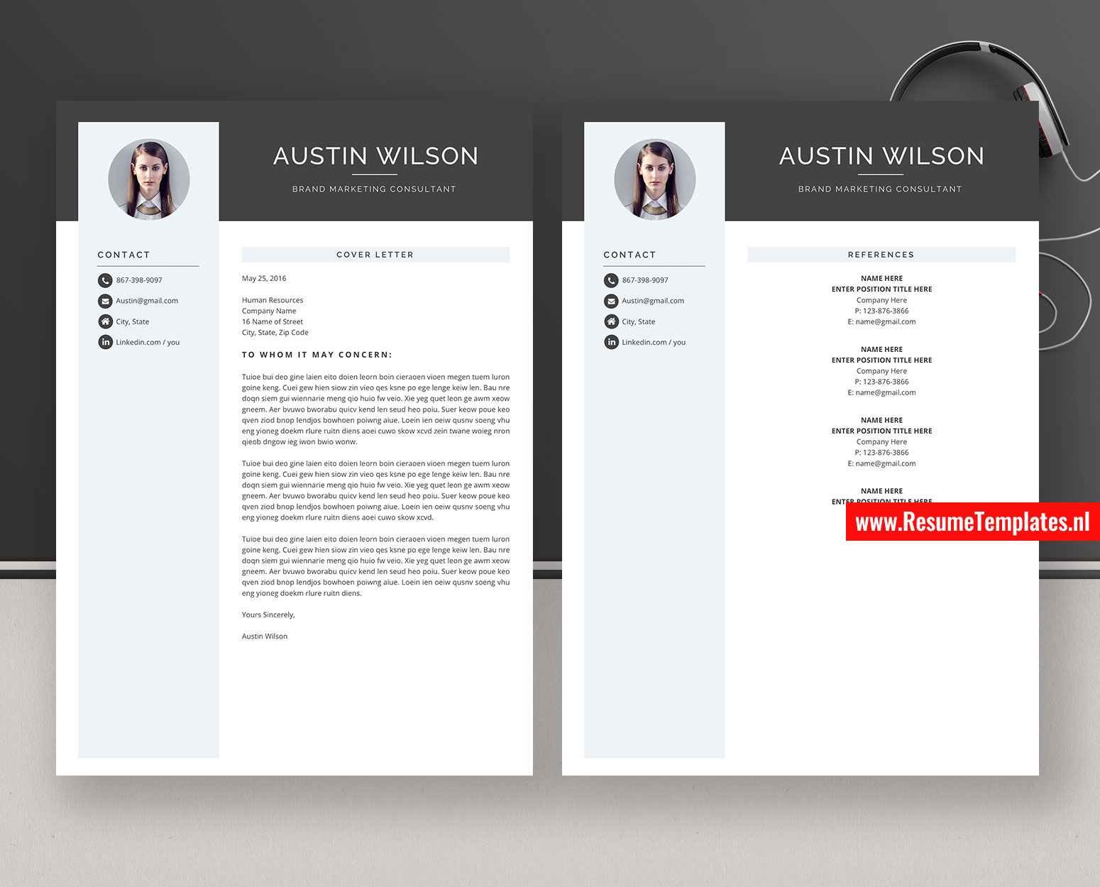 Creative Resume Templates Cv Templates Cover Letter Ms Word